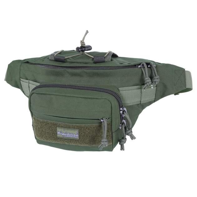 Поясная сумка Kiwidition Pokorua K3-006-OG olive green