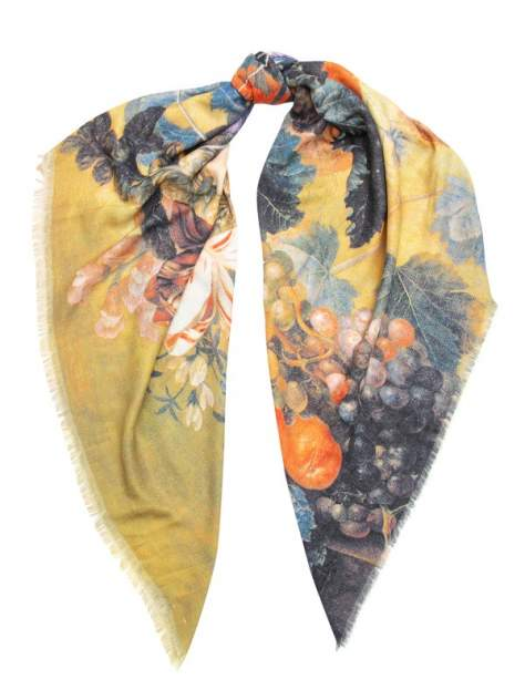 Платок женский Labbra LG33-959 желтый