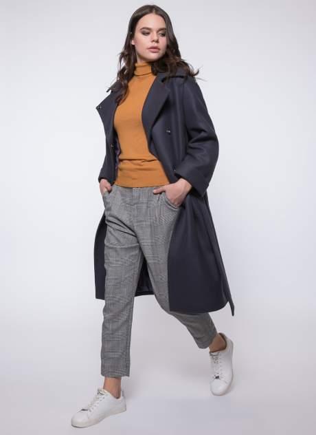 Пальто женское idekka д-1815 серое 46 RU