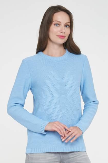 Джемпер женский VAY 192-4844 голубой 56 RU