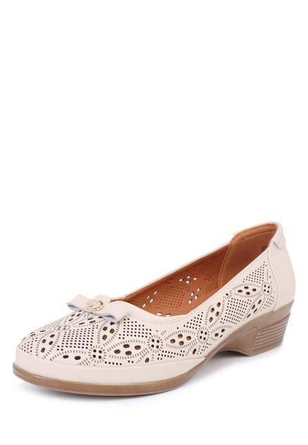 Туфли женские T.Taccardi 27306390 бежевые 41 RU