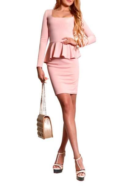 Платье женское FRANCESCA LUCINI F0554-6 розовое 48 RU