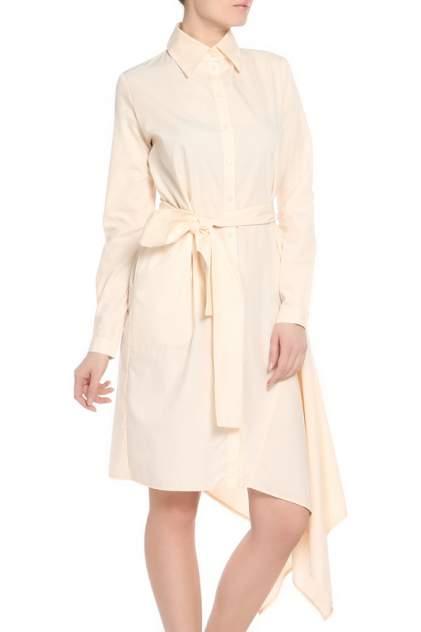 Платье женское Adzhedo 41227 бежевое 2XL