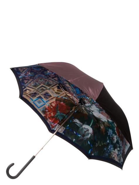 Зонт-трость женский механический Eleganzza 01-00029257 разноцветный/фиолетовый