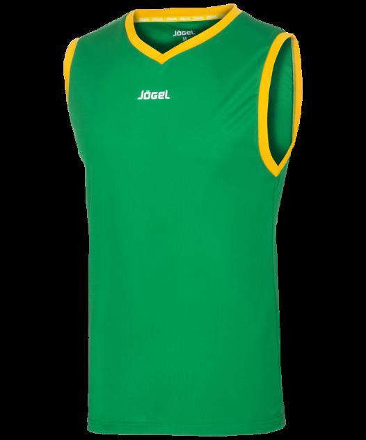 Майка Jogel JBT-1020-034, зеленый/желтый, S INT