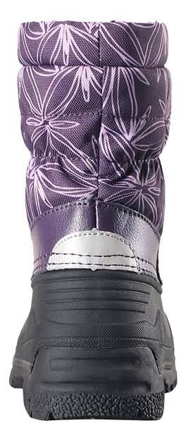 Сноубутсы детские Reima, цв. фиолетовый р.30