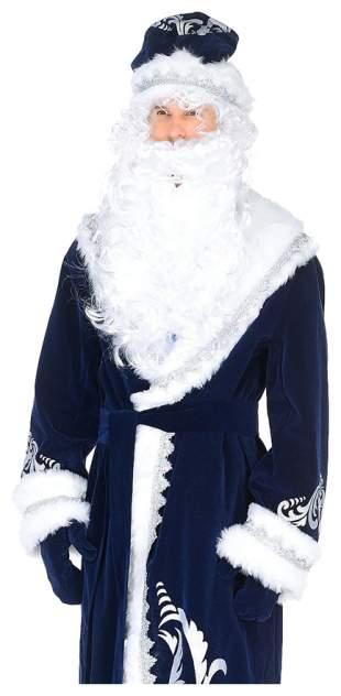 Карнавальный костюм Батик Дед Мороз, цв. синий р.176