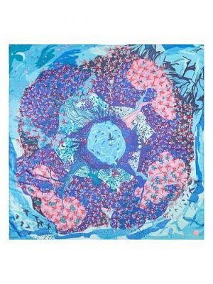 Платок женский Eleganzza D43-1212 синий