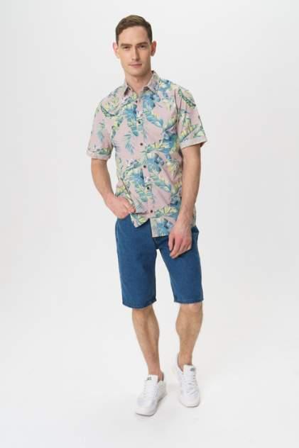Рубашка мужская ONLY & SONS 22013269 фиолетовая M
