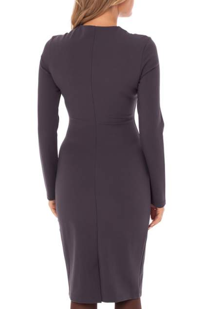 Платье женское Gloss 19327(03) серое 40 RU