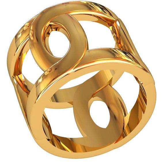 Кольцо женское ПРИВОЛЖСКИЙ ЮВЕЛИР 272932 р.16