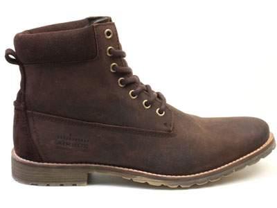 Мужские ботинки Airbox 135696, коричневый