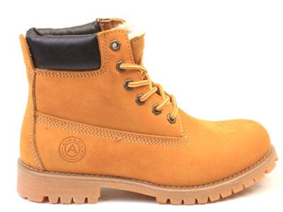 Ботинки женские Airbox 135707, коричневый