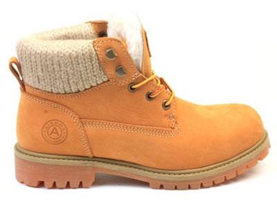 Ботинки женские Airbox 135711, желтый