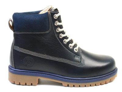 Ботинки женские Airbox 135741, синий
