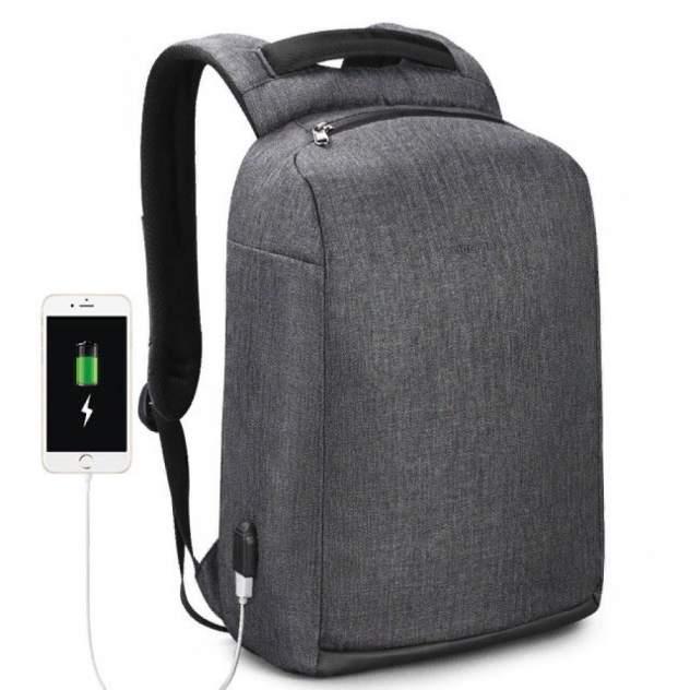 Рюкзак Tigernu T-B3558 темно-серый