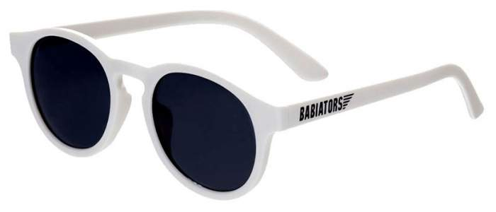 Очки Babiators Original Keyhole солнцезащитные Шаловливый белый, дымчатые (0-2) LTD-035