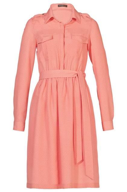 Платье женское Apart 27814 оранжевое 44 DE