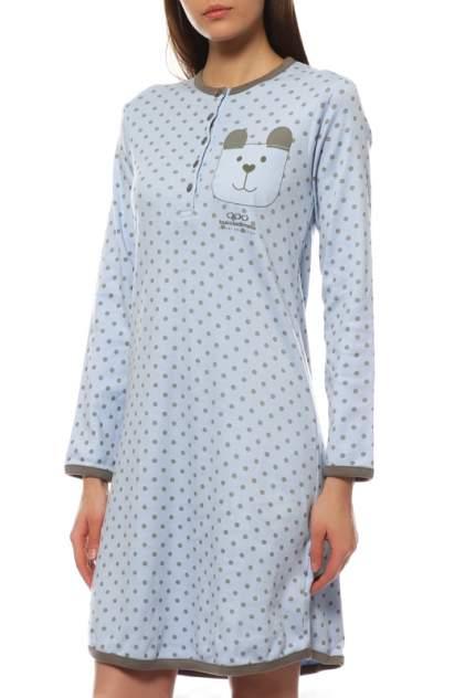 Платье женское Buccia di Mela SDI10823Z голубое XL