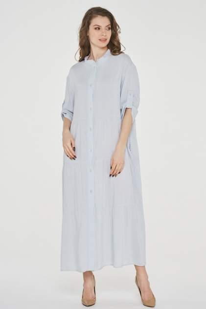 Платье женское VAY 191-3514 серое 52 RU