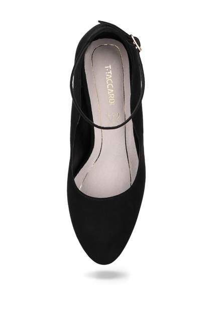 Туфли женские T.Taccardi 00807080 черные 40 RU