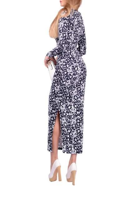 Платье женское FRANCESCA LUCINI F0817-7 синее 48 RU