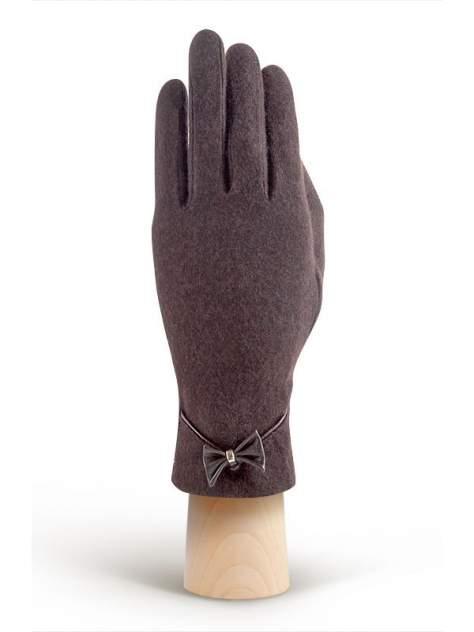 Перчатки женские Labbra LB-PH-50 коричневые M