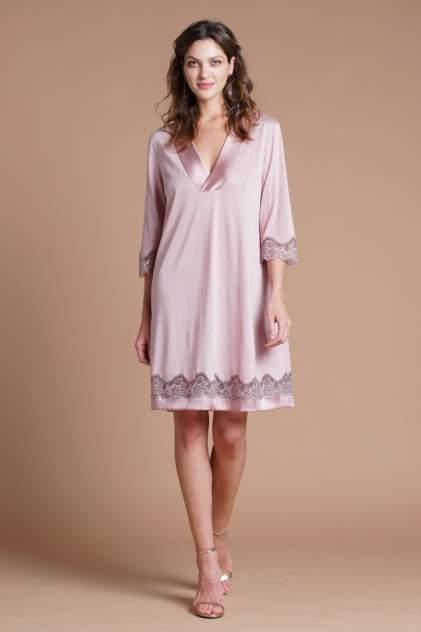 Домашнее платье женское Laete 51724 розовое L