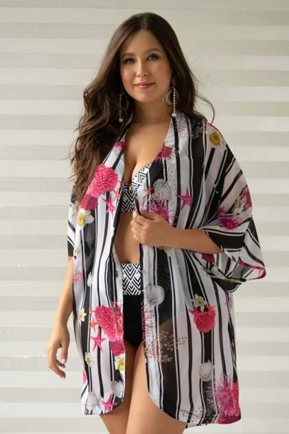 Пляжная блуза женская Laete 60434 разноцветная XS