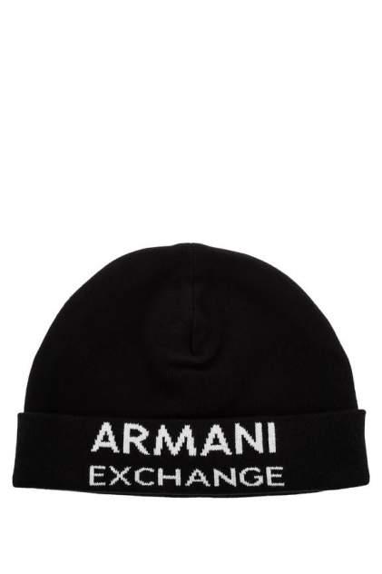 Шапка мужская Armani Exchange 6GZ41G черный ONE SIZE