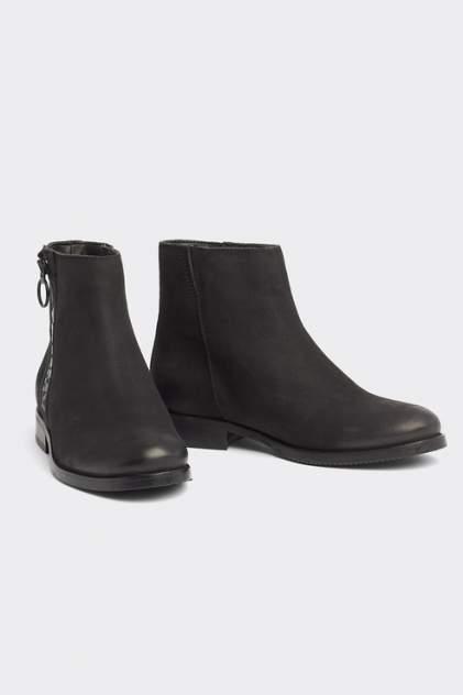 Ботинки женские Tommy Hilfiger EN0EN00611 черные 38 RU