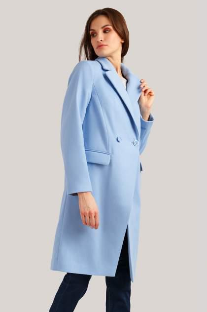 Женское пальто Finn Flare B19-11007, голубой