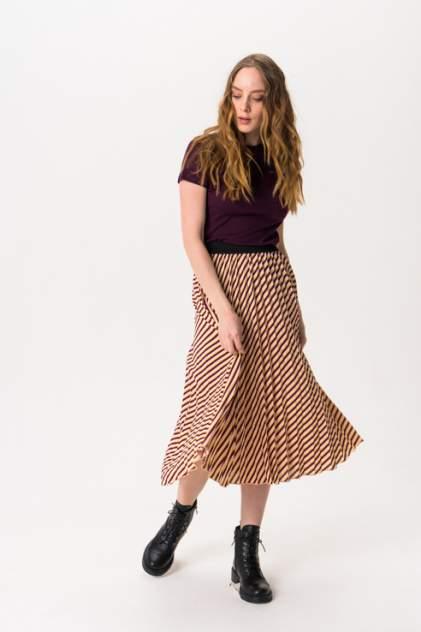Женская юбка b.young 20805705, коричневый