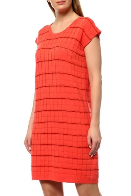 Платье женское Cruciani CD21.283 оранжевое 40 IT