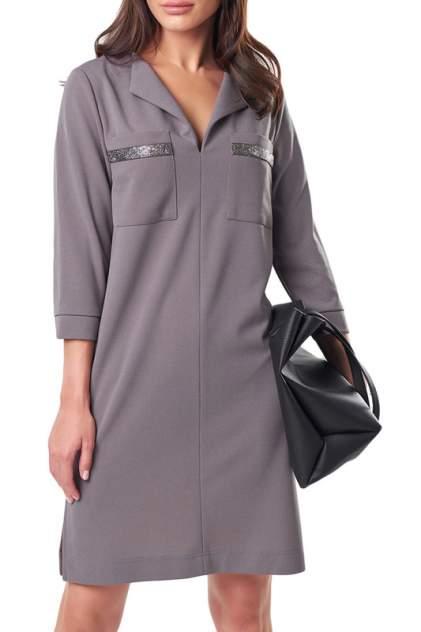 Платье женское Fly 898-11 серое 42 RU