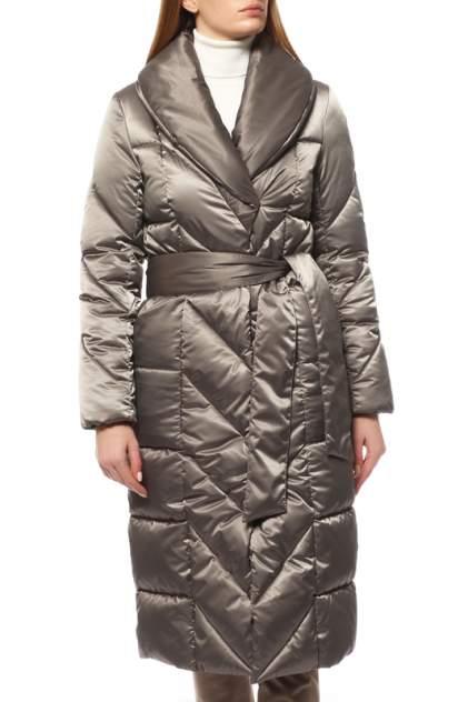 Пуховик-пальто женский De Marse К-1026 зеленый 52 RU