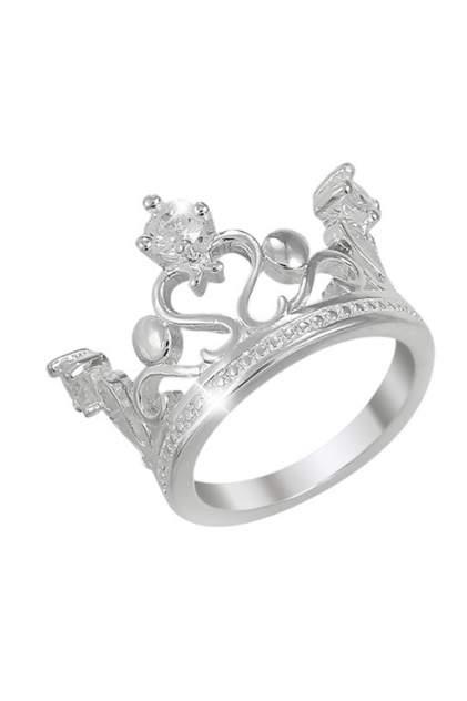 Кольцо женское ViviTrend Корона 53114 серебристое