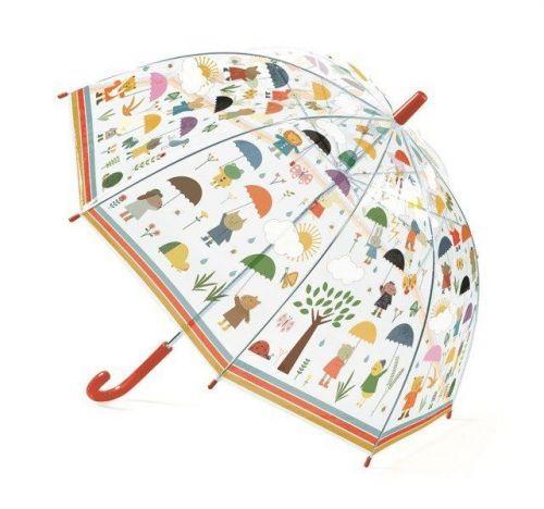 Зонтик Djeco Под дождём прозрачный
