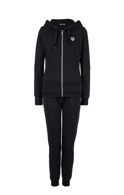 Спортивный костюм EA7 3GTV53 TJ31Z 1200, черный/серебристый, M INT
