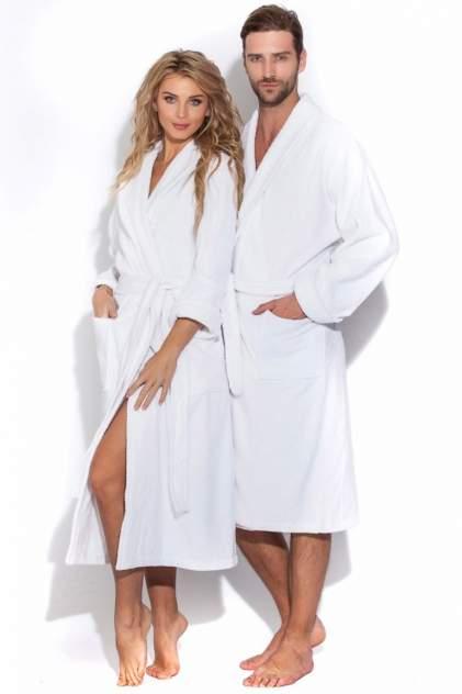 Махровый банный халат Arctic White 701 (унисекс) 701/белый/50-52
