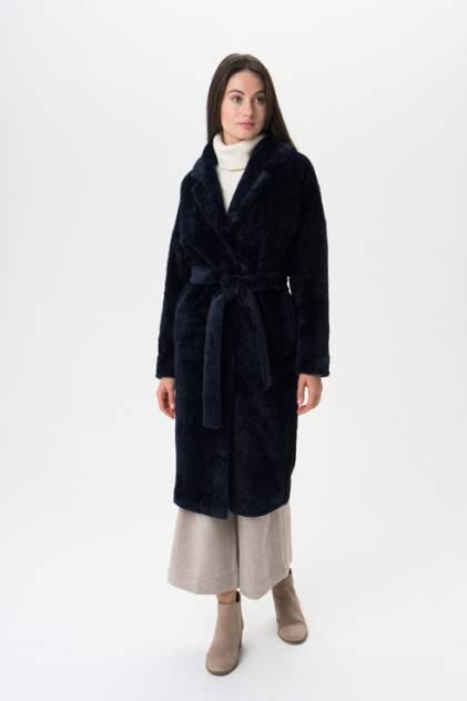 Пальто женское ElectraStyle 4-7038/13м-318 синее 44 RU