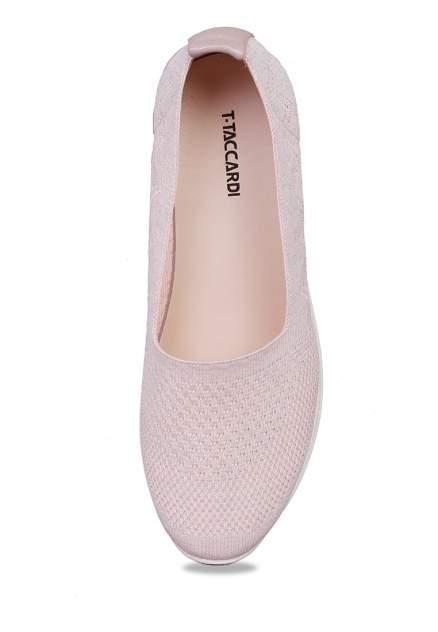 Кеды женские T.Taccardi 710018023 розовые 37 RU