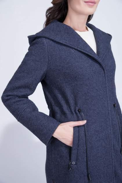 Пальто женское ElectraStyle 4-9007/2-138 синее 44 RU