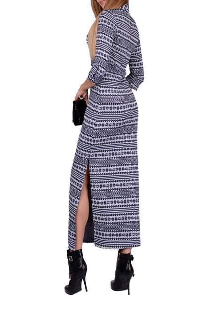Платье женское FRANCESCA LUCINI F0812-8 синее 42 RU