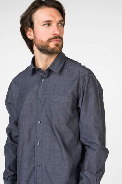 Рубашка мужская Broadway 20101460 черная XL