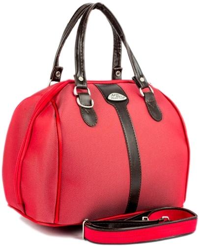 Бьюти-кейс для косметики женский Polar 7028.5 красный