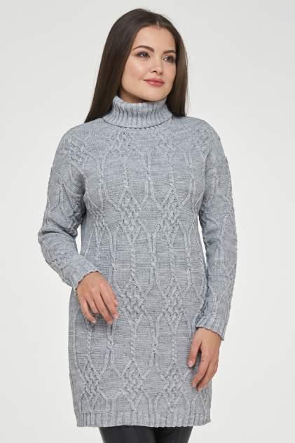Свитер женский VAY 182-4748 серый 52 RU