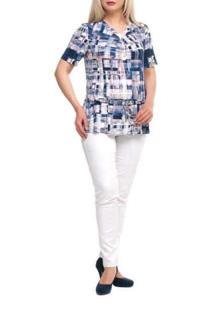 Блуза женская OLSI 1706031_2 синяя 54 RU