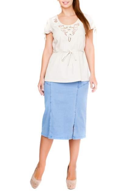 Блуза женская LAFEI-NIER G33504R-F бежевая XL
