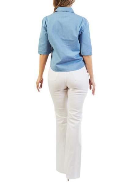 Блуза женская LAFEI-NIER T48623T-J голубая 3XL